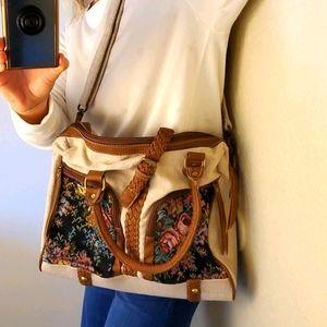 Fredd + Basha tapestry shoulder bag